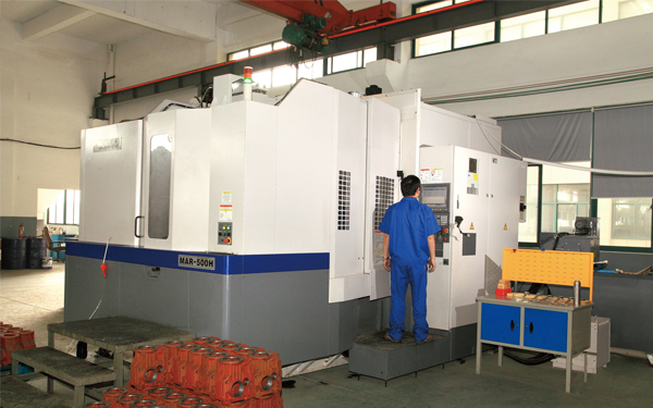 okuma horizontal machining center
